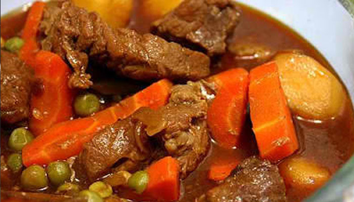 Beef Afritada Ni Nanay Flora With A Twist Moms Magazine